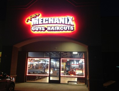 Hair Mechanix Signs