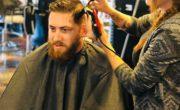 Jacksonville Hair Mechanix giving a great haircut!