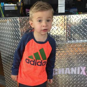 little boys haircut style