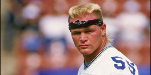 Memorable Football Hairstyles Throughout The Years Brian Bosworth