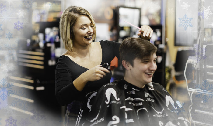 Holiday Haircuts and The New Mobile App